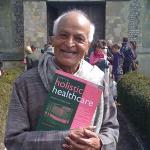 Satish Kumar holding JHH400px