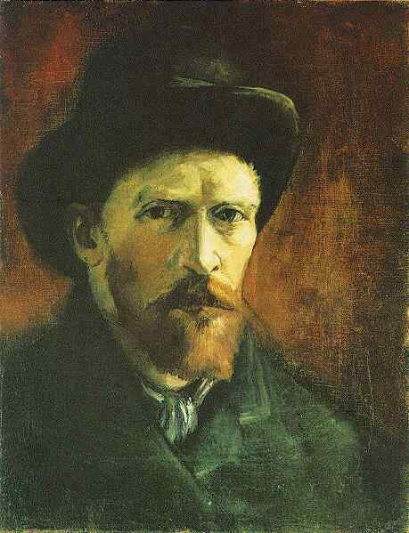 Van_Gogh_Self-Portrait_with_Dark_Felt_Hat_1886