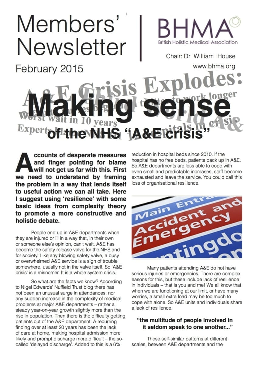 BHMA newsletter Feb 2015