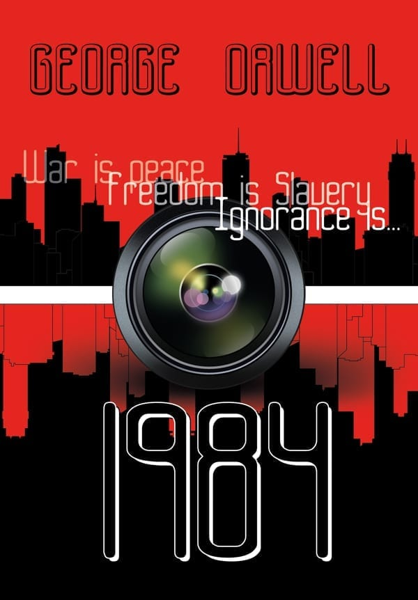 Orwell 1984 front cover