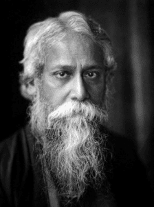 Tagore portrait
