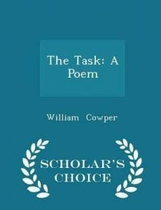 Wm Cowper The Task front cover