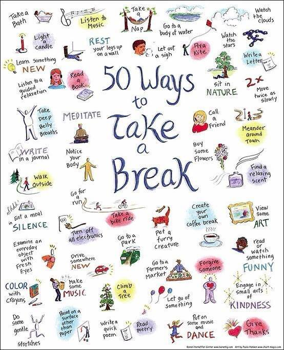 self care 50 ways