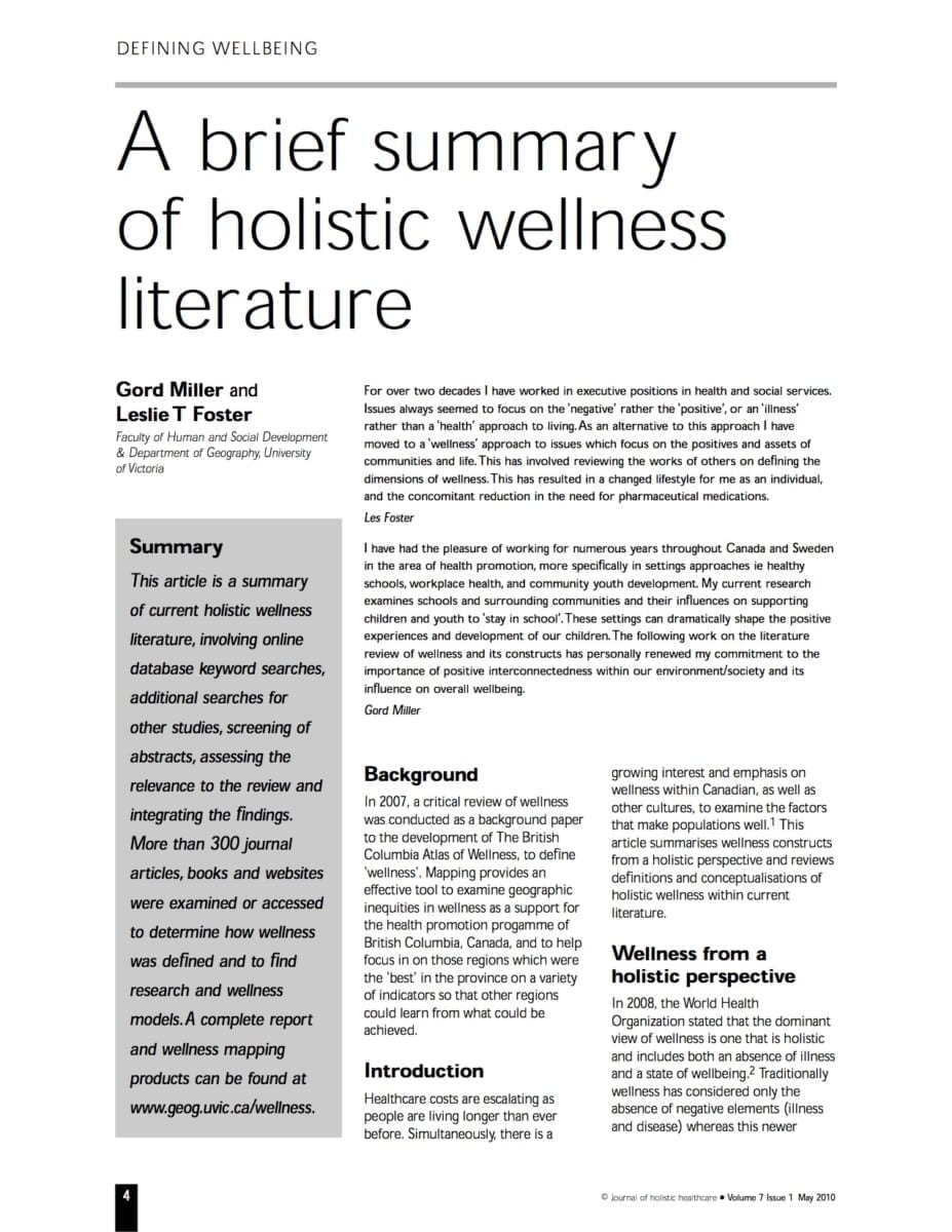 literature magazine articles