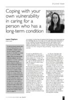 11.1.8 coping with own vulnerability in long term caring