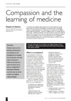 11.2.3 compassion and learning medicine