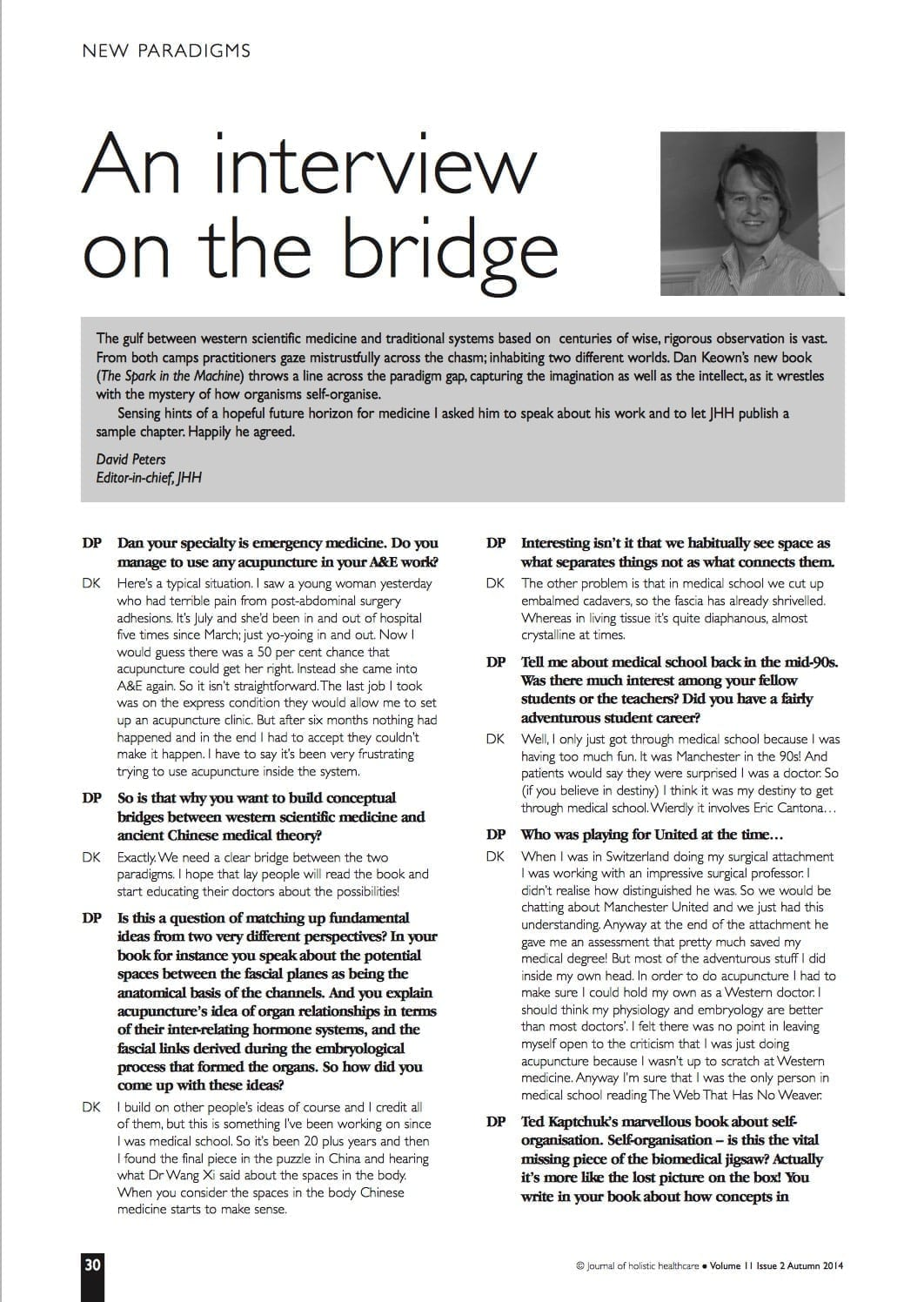 11.2.8 an interview on the bridge