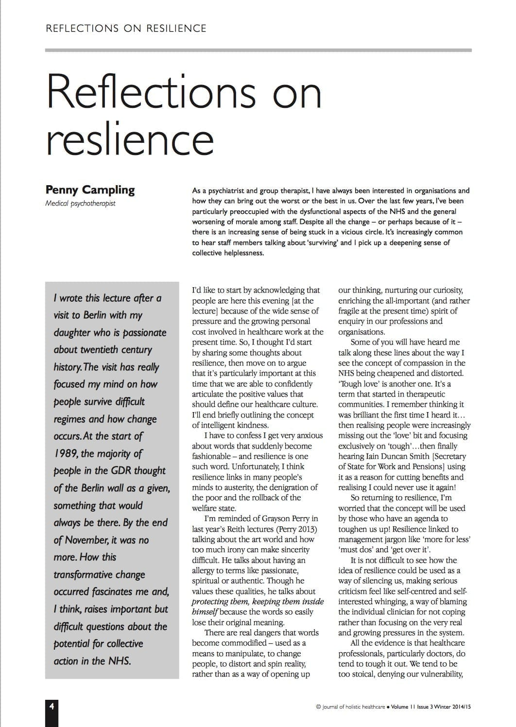 11.3.1 reflections on resilience