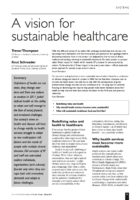 12.1.3 vision for sustainable healthcare
