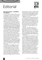 12.2 Editorial