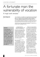 12.2.1 a fortunate man the vulnerability of vocation