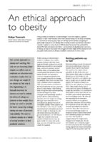 13.2.03 An ethical approach to obesity