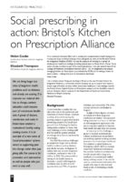 13.2.06 Bristol's Kitchen on Prescription Alliance