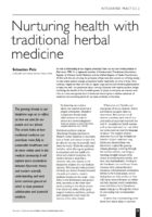 13.2.07 Nurturing health with traditional herbal medicine