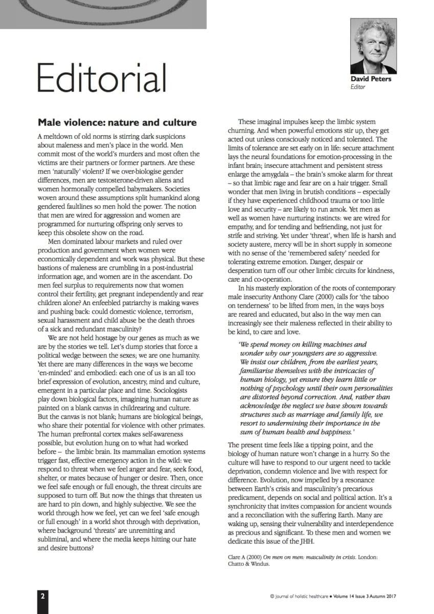 14.3 Editorial