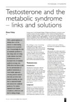 14.3.7 Testosterone and the metabolic syndrome