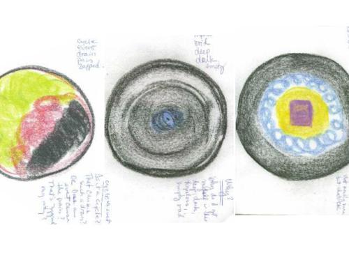 Self-care mandala journaling: slow burn, burn up, or burnout?